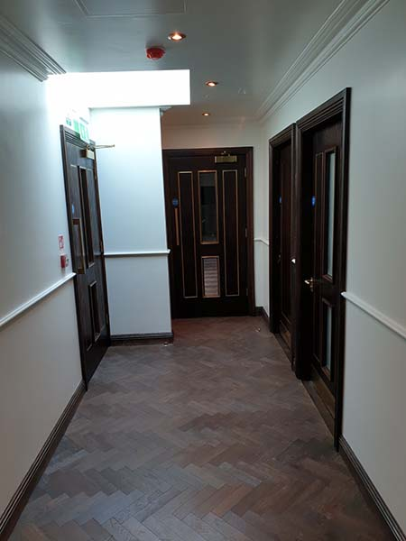 wood flooring hall