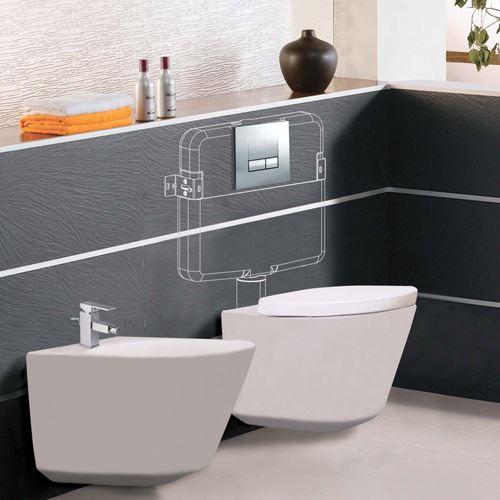 hidden tank toilet