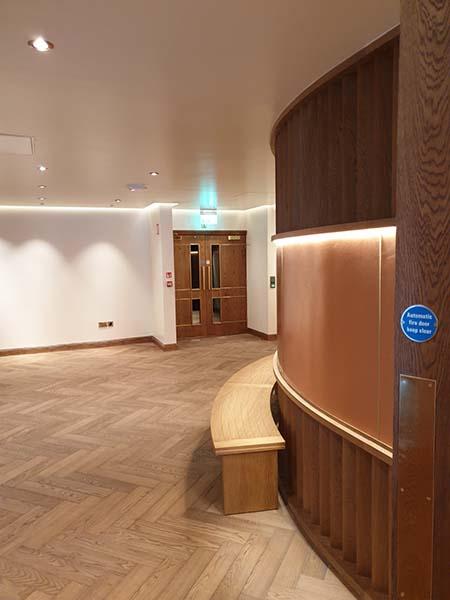 new renovated floor