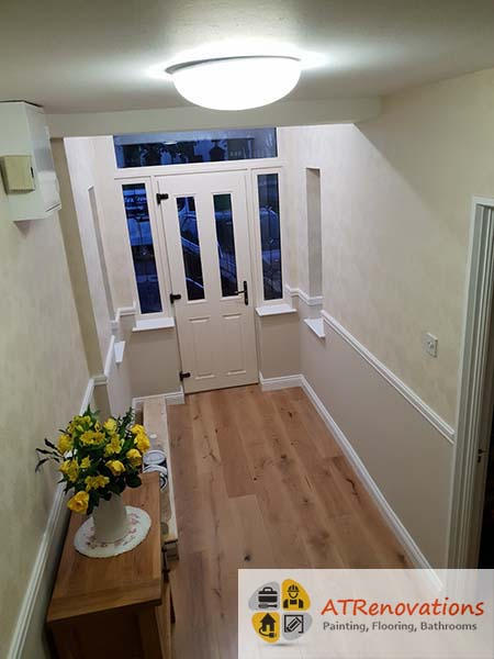 laminate floors in house